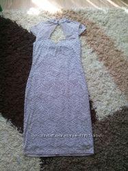 Шикарное кружевное  платье  46-48 р.