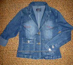 Пиджак джинсовый 46 р.