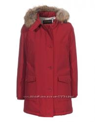 WOOLRICH Womens Arctic Parka DF - John Rich & Bros. XL коричневый и красный