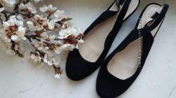 Замшевые туфли Monarch 40 р.