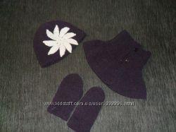 Фиолетовый плюшевый наборчик