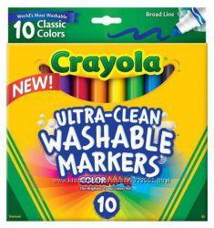 Фломастеры смываемые Crayola 10шт.
