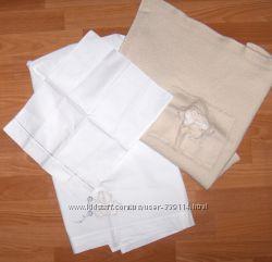 Детская пеленка, простынь, фирменные, Италия, в коляску или кроватку, разные
