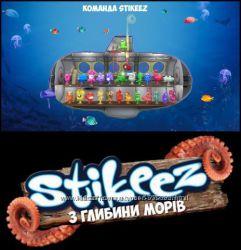 Stikeez из Сильпо полная коллекция с глубины морей