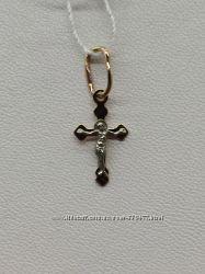 Золотой крестик для малышей