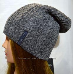 вязаная женская шапка LA VISIO