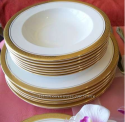 Дополнение к обеденному сервизу Classic Gold на 6 персон Цептер