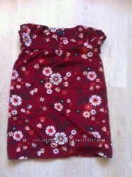 Платье Gap цвета вишни на 10-11 лет