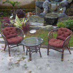 Набор мебели из натурального ротанга 3 позиции