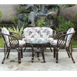 Комплект мебели из натурального ротанга 4 позиции
