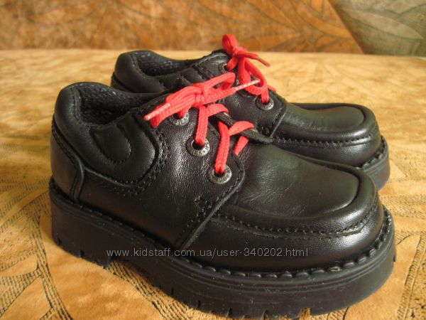 Кожаные туфли для модников и модниц. Hush Puppies