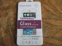 Защитное закаленное стекло для iphone 6 Plus.