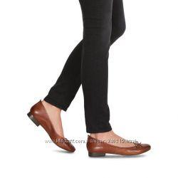 балетки Tamaris 40 размер натуральная кожа по стельке 25, 8 см