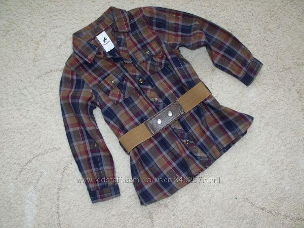 Стильная рубашечка Рalomino 98р.