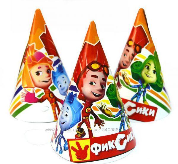 Одноразовая посуда на день рождения фиксики-2