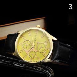 мужские часы GENEVA ретро дизайн