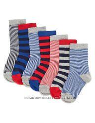 Носки Marks&Spenser, размер 3-5, 5, наш 19-22, на 1-2 года