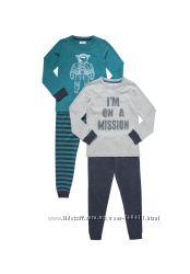Пижамы Tesco на 6-7 лет, рост 116-122 см