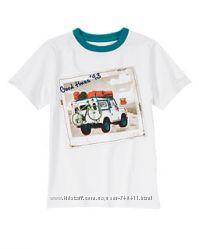 Разные футболки Gymboree на 5-6 лет