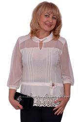 Блуза Фея ажур 1509-1 а. п