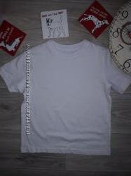 Белая футболочка. Хлопок 104 сток