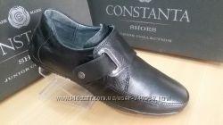 Натуральная кожаная обувь для мальчиков и девочек