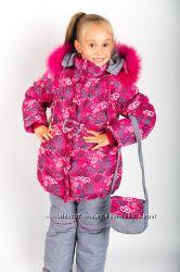 Зима 2015-2016. Недорого. Шикарные зимние комбинезоны для маленьких леди