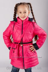 Нарядная курточка  сумочка для девочки Мираж