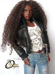 Авторская шарнирная кукла Эшли