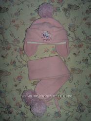 Комплект Pupill шапка и шарф