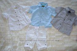 Много летней одежды на мальчика.