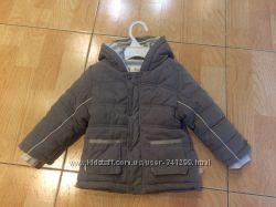 Продам тёплую куртку Kanz 80 см