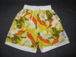 цветастые шорты на 7-8 лет