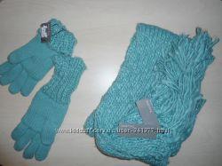 Комплект , набор шарф  перчатки. Parfois