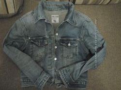 Джинсовая курточка пиджак
