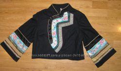 Пиджак  в китайском стиле Topshop шерсть