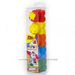 Краски пальчиковые Олли Olli 5 цветов и 6 цветов со штампами