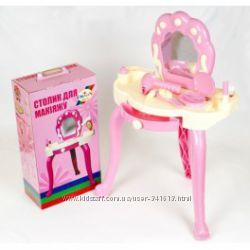 Игровые наборы для девочек трюмо столик кроватка стульчик кукол