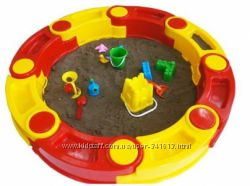 Песочница сборная 8 - 14 деталей столик набор песочный Kinderway