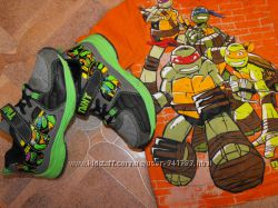 Фирменные TURTLES супер кроссовки Черепашки Нинзя на модника