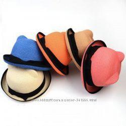 шляпки  с ушками для девочек