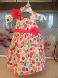 Продам яркое платье на девочку