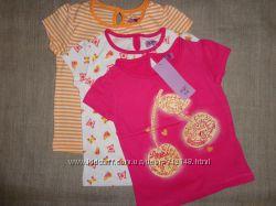 F&F TESCO набор футболок девочке 2-3 года. Курс 35.