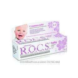 Детская Зубная паста R. O. C. S.
