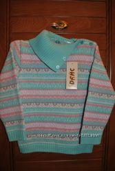 Шерстяной свитер-гольф Дайс 98-104 р.