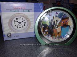 Часы будильник Майкрафт Minecraft