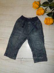 Фирменные джинсы TU 9-12мес