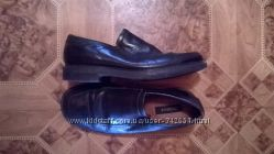 Кожаные туфли в школу фирмы GEORGE стелька 26. 2 см