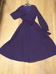Новое платье крепдешин 38-40 евро