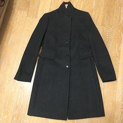 Пальто шерсть/кашемир темно-серое SEVENTY оригинал 38-40 евро.
